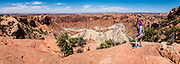Upheaval Dome. Island in the Sky District of Canyonlands National Park, Moab, USA. This image was stitched from multiple overlapping photos.