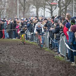 14-01-2018: Wielrennen: NK Veldrijden: Surhuisterveen<br />Mathieu van der Poel