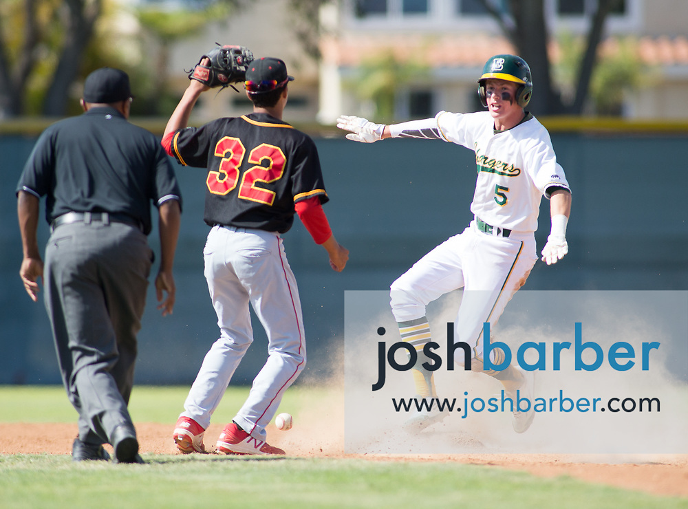 Edison's Ted Burton Ted Burton during the CIF-SS Division 2 Quarterfinal: Palm Desert v Edison at Edison High School on Friday, May 26, 2017 in Huntington Beach, Calif. (Photo by Josh Barber, Contributing Photographer)