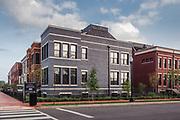 Buchanan School Townhomes; Maurice Walters Architect