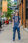 Brennan after work on Main Street, Monday April 23, 2018 in Louisville, Ky. (Photo by Brian Bohannon)