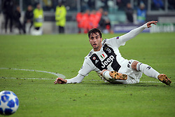 November 7, 2018 - Turin, Turin, Italy - Rodrigo Bentancur #30 of Juventus FC in action during  the UEFA Champions League group H match between Juventus FC and Manchester United at Allianz Stadium on November 07, 2018 in Turin, Italy. (Credit Image: © Giuseppe Cottini/NurPhoto via ZUMA Press)