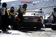 January 30-31, 2021. IMSA Weathertech Series. Rolex Daytona 24h:  #4 Corvette Racing Corvette C8.R, GTLM: mechanics