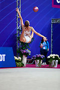 Tashkenbaeva Sabina from Uzbekistan was born in Tashkent 2000. She began competing in gymnastics at age six. His dream is to participate in the upcoming Tokyo Olympics in 2020