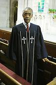 Rev. Al Sharpton preaches at Riverside Church