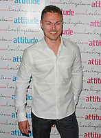 Andrew Hayden-Smith, Attitude Magazine's Hot 100 Summer Party, The Rumpus Room at the Mondrian Hotel, London UK, 20 July 2015, Photo by Brett D. Cove