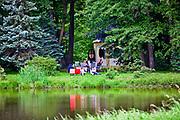 Zabytkowy Park Pszczyński, Polska<br /> Historic Park in Pszczyna, Poland