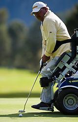 03.10.2010, Golfclub, Zell am See Kaprun, AUT, European Paragolf Championships 2010, im Bild Christian Nachtwey, GER, EXPA Pictures © 2010, PhotoCredit: EXPA/ J. Feichter