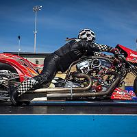 Mark Drew (2987) launching his Harley-Davidson Top Bike at the Perth Motorplex.