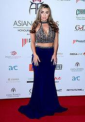 Abigail Clarke attending the 8th Annual Asian Awards held at the Hilton Hotel, Park Lane, London.