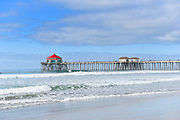 Huntington Beach Pier and Coastline