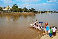 Myanmar (ex Birmanie), environs de Yangon (Rangoon), Kyauktan, Paya Yele // Myanmar (Burma), around Yangon (Rangoon), Kyauktan, Paya Yele