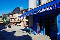 France, Finistère (29), Concarneau, la ville close // France, Briitany, Finistere, Concarneau, Historic walled town of Concarneau