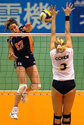 24-06-2000 JAP: OKT Volleybal 2000, Tokyo<br /> Nederland vs Argentinie 3-1 / Ellen Leferink