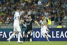 Dynamo Kyiv v Ajax Amsterdam - 28 Aug 2018