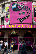 Grease the Musical. Plaing at the Piccadilly Theatre, central London. West End musicals are ever increasingly popular with audiences in Theatreland