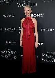 All The Money in the World Premiere - Los Angeles. 18 Dec 2017 Pictured: Michelle Williams. Photo credit: Jaxon / MEGA TheMegaAgency.com +1 888 505 6342