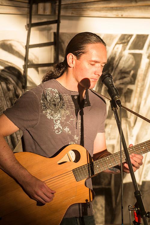Guitar player. Denver, Colorado