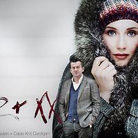 Nederland, Amsterdam , 8 december 2011..Thomas Grote, directeur Mexx Europe voor een poster met actrice Carice van Houten...Foto:Jean-Pierre Jans