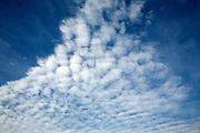 Cirro Cumulus clouds often called mackerel sky