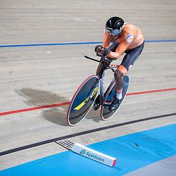 16-03-2019: Wielrennen: WK Paracycling baan; Apeldoorn<br />Brons voor Abraham Gebru op de achtervolging