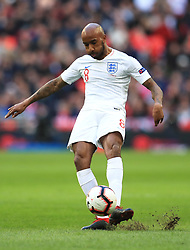 England's Fabian Delph during the UEFA Nations League, Group A4 match at Wembley Stadium, London. PRESS ASSOCIATION Photo. Picture date: Sunday November 18, 2018. See PA story SOCCER England. Photo credit should read: Mike Egerton/PA Wire. RESTRICTIONS: Use subject to FA restrictions. Editorial use only. Commercial use only with prior written consent of the FA. No editing except cropping.