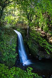 Waterfall east of Nishiizu on route 59