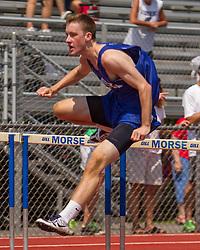Boys 110 Hurdles; Maine State Track & FIeld Meet - Class B