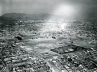 1939 Aerial photo of Wilshire Blvd. & Fairfax Ave.