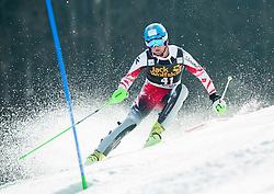 SCHWARZ Marco of Austria competes during 1st Run of Men Slalom race of FIS Alpine Ski World Cup 54th Vitranc Cup 2015, on March 15, 2015 in Kranjska Gora, Slovenia. Photo by Vid Ponikvar / Sportida