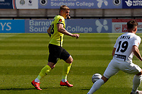 Will Collar. Boreham Wood FC 0-3 Stockport County. Vanarama National League. Meadow Park. 24.4.21