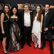 NLD/Amsterdam/20150126 - Premiere Michiel de Ruyter, scenarioschrijver Lars Boom met familie
