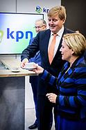 De Koning is bij de 30e conferentie van de Stichting Nederlandse Industrie voor Defensie en Veilighe