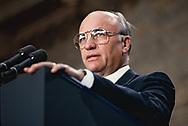 Washington, DC 1989/02/01 Clayton Yeutter, Secretary of Agriculture.<br />Photo by Dennis Brack