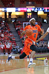 10 December 2016:  Kedar Edwards during an NCAA  mens basketball game between the UT Martin Skyhawks and the Illinois State Redbirds in a non-conference game at Redbird Arena, Normal IL
