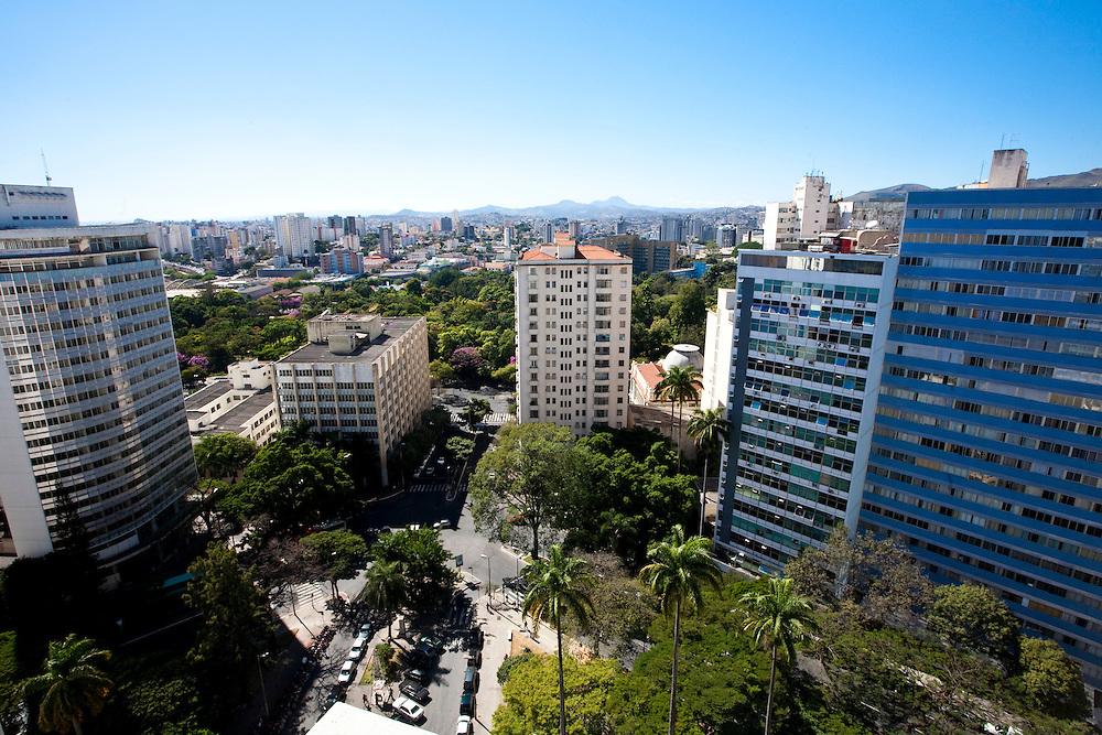 Belo Horizonte_MG, Brasil..Vista panoramica de Belo Horizonte, Minas Gerais...Belo Horizonte panoramic view Minas Gerais...Foto: NIDIN SANCHES / NITRO