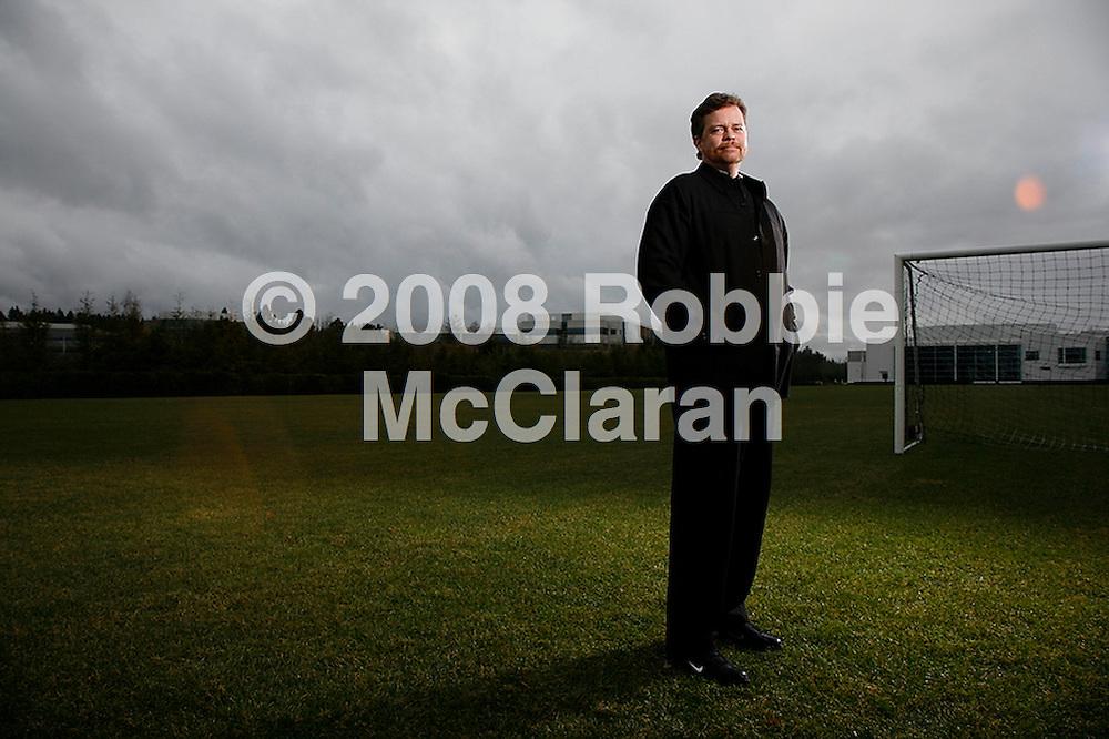 Mark Parker, CEO of Nike, photographed by Robbie McClaran at Nike Campus, Beaverton Oregon, near Portland Oregon