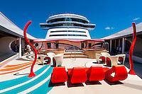 Vibe (teen club) on the new Disney Dream cruise ship sailing between Florida and the Bahamas.