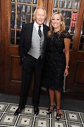 HAROLD TILLMAN and MARIGAY McKEE at Vogue's Celebation of Fashion dinner held at The Albermarle, Brown's Hotel, Albermarle Street, London on 18th September 2008.