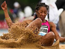 adidas Grand Prix Diamond League professional track & field meet: womens long jump, Éloyse LESUEUR, France