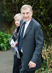 © licensed to London News Pictures. 18/05/2011. Tonbridge, UK. Sir Trevor Brooking at the funeral of heavyweight boxing legend Sir Henry Cooper at Corpus Christi Church in Lyons Crescent, Tonbridge, Kent today (18/05/2011).  Please see special instructions for usage rates. Photo credit should read Ben Cawthra/LNP