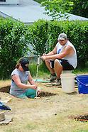 Lattimer Massacre Archaeologic Dig in Hazleton, Pennsylvania