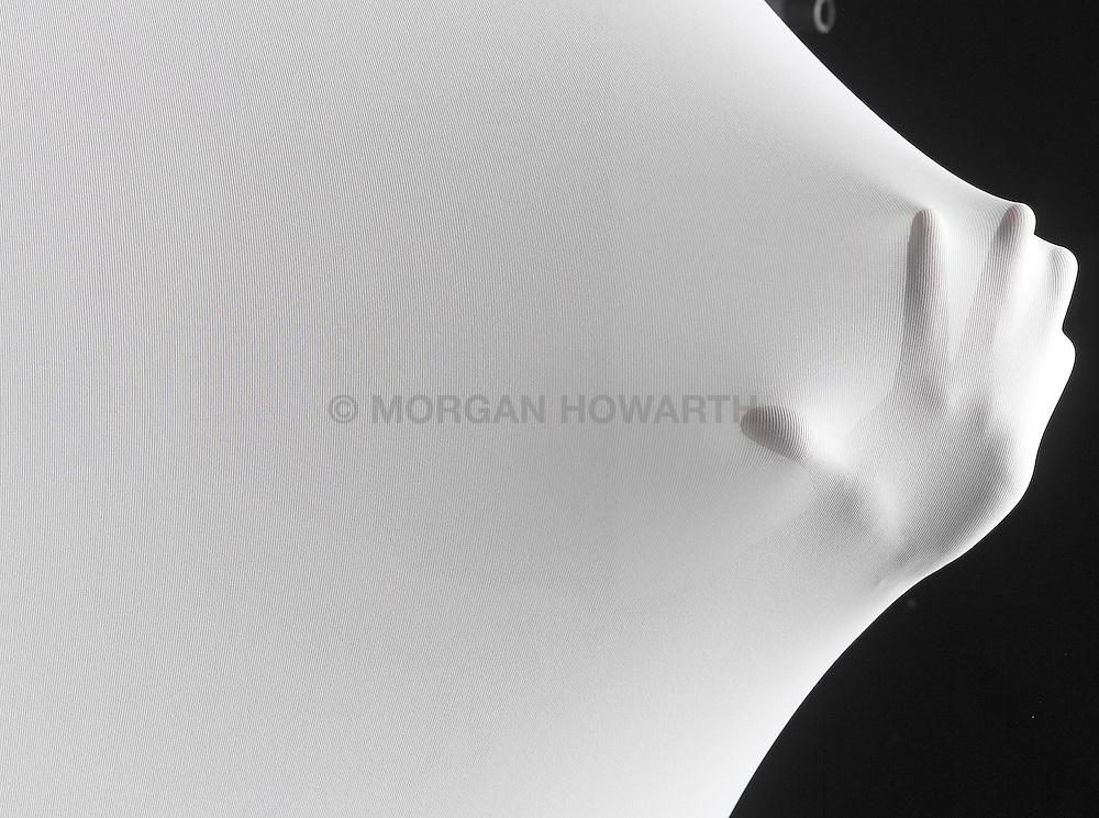 white fabrics 036 body parts stretching white cloth