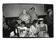 All-night party. Oxford Union. 30 April 1983-May morning.