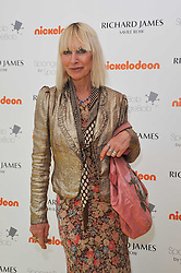 VIRGINIA BATES at a party to launch a range of SpongeBob SquarePants suits and accessories designed by Richard James in partnership with Nickelodeon held at Richard James, 29 Savile Row, London W1 on 11th May 2011.