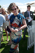 CAMILLA RUTHERFORD, Cartier International Polo. Smiths Lawn. Windsor. 24 July 2011. <br /> <br />  , -DO NOT ARCHIVE-© Copyright Photograph by Dafydd Jones. 248 Clapham Rd. London SW9 0PZ. Tel 0207 820 0771. www.dafjones.com.