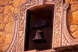 Spanish architecture with bell in San Antonio Texas