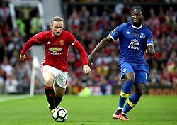 File photo dated 03-08-2016 of Manchester United's Wayne Rooney (left) and Everton's Romelu Lukaku.