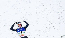 11.01.2014, Kulm, Bad Mitterndorf, AUT, FIS Ski Flug Weltcup, Bewerb, im Bild Manuel Poppinger (AUT) // Manuel Poppinger (AUT) during the FIS Ski Flying World Cup at the Kulm, Bad Mitterndorf, Austria on <br /> 2014/01/11, EXPA Pictures © 2014, PhotoCredit: EXPA/ JFK