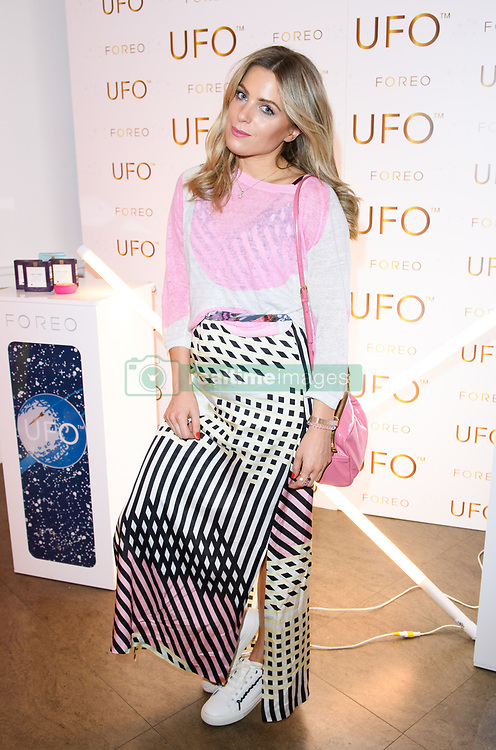 EDITORIAL USE ONLY<br /> Olivia Cox at the FOREO launch party in London for the world&Otilde;s first smart mask device, the FOREO UFO.